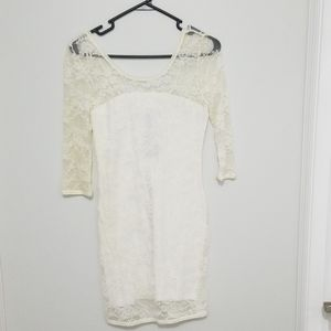 Lace mini dress from h&m.   size 8